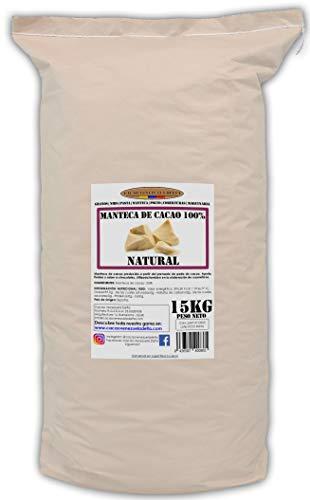 Cacao Venezuela Delta · Manteca De Cacao 100{37cf1bb9c8cccc293d16e51c538346f33ce8cd2c414500442da5081cf39c4864} · Natural · 15kg - Calidad Extra