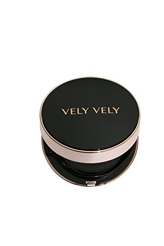 VELY VELY Perfect Cover Cushion 17g (23 Natural) Single- Superb & Flawless Coverage, Spreads & Absorbs Easily, Moisturizing, UV block