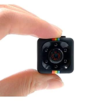 Mini Cop Cam- Spy Camera Wireless Hidden - Micro Hidden Camera - Nanny Cam Cop Camera Body Cam - 1 Cubic Inch 1080p Hidden Security Camera with Motion Detection and Night Vision