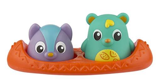 Playgro Badespielzeug Bären-Freunde mit Wärmesensor, 3-teilig, Baby Spielzeug beim Baden, Ab 6 Monate, BPA-frei, Bunt, 40215
