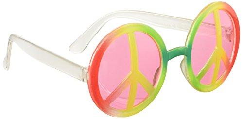 Boland 44520 - Partybrille Hippie