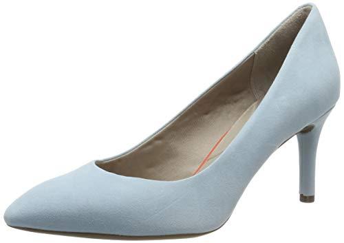 Rockport Total Motion 75mm Pth Plain Pump, Zapatos de tacón con punta cerrada para Mujer, Azul (Blue Sky 003), 40 EU