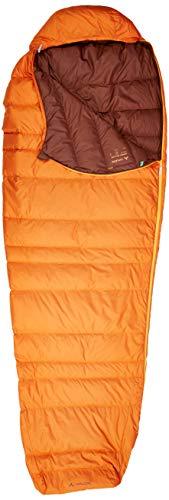 VAUDE Schlafsack Marwees 300 XL DWN, warmer und vielseitiger Daunenschalfsack, Mumienschnitt, orange madder, one Size, 142579820010