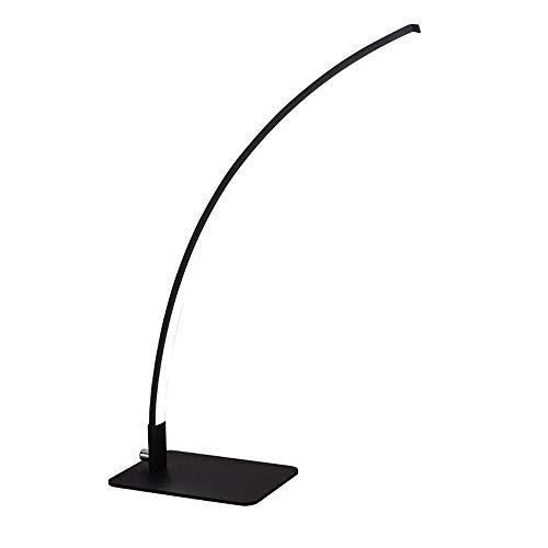 6 W, creativo, sensible al arco, control táctil, sencillez, lámpara LED con puerto de carga USB, compacta, regulable, oficina, para trabajo, lectura, luz, escritorio, función de memoria