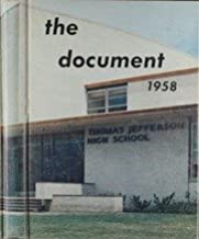 (Custom Reprint) Yearbook: 1958 Thomas Jefferson High School - Document Yearbook (Dallas, TX)