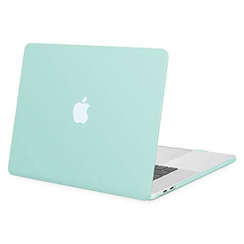 MOSISO Funda Dura Compatible con 2020 2019 MacBook Pro 16 Pulgadas con Touch Bar A2141, Ultra Delgado Carcasa Rígida Protector de Plástico Cubierta, Menta Verde