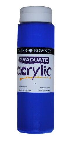 Daler-Rowney Graduate Peinture acrylique Bleu cobalt 500 ml
