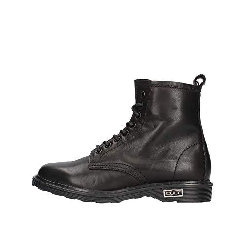 Cult Sabbath 420 Mid W Leather Black