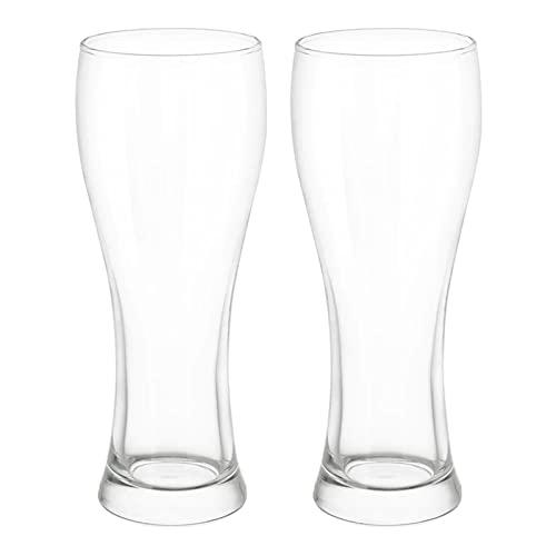 DONGTAISHANGCHENG Jarras de Cerveza Tazas de la Cerveza de Cristal Tazas de Vidrio congelable Grande 22oz Tazas para Beber Tazas de Agua para Bar Alcohol Bebidas Lavavajillas Disponible 2 Paquete