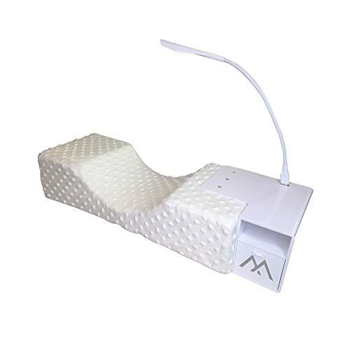 Wimpernverlängerung Kissen Wimpernverlängerung Spezielle ergonomische Kissen Regal Kosmetik Werkzeuge Unterstützung Hals für Familiensalon