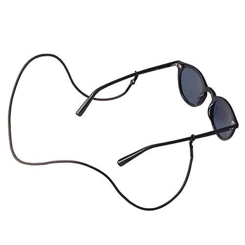 KNOK Brillenband Sunglass Strap - Brillenbänder Brillenkette Universal Accessoire für Sonnenbrillen und Lesebrillen - Brillenhalter Brillenschnur (Olive)