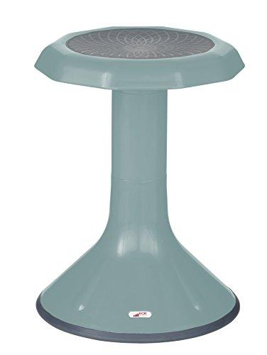 ECR4Kids ACE Active Core Engagement Wobble Stool for Kids, Flexible Classroom & Home Seating, Kids' Chair, Flexible Seating, Wiggle Chairs, 360 Degree Movement, 18-inch Seat Height, Seafoam
