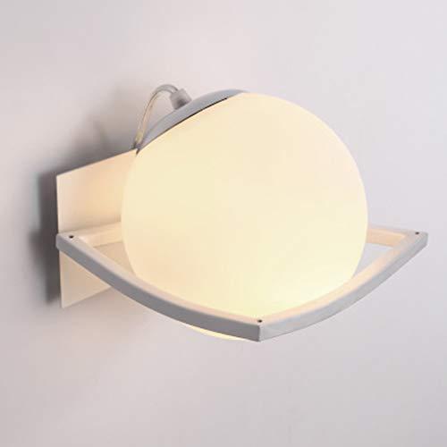 Moderne wandlamp in minimalistisch design, materiaal van smeedijzeren E27 mond, decoratieve lamp prachtig en mooi plafond
