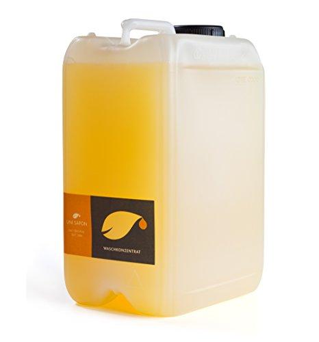 BIO Waschmittel flüssig - 300 Waschladungen - Uni Sapon Konzentrat - chemiefrei - umweltschonend - zertifiziert - pflanzliche Inhaltsstoffe - Vegan