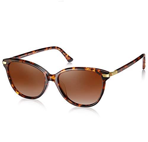 AVAWAY Fashion Herren Damen Sonnenbrille Polarisierte UV400 Schutz Brille, Acetat Rahmen