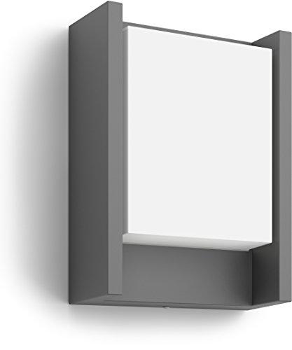 Philips myGarden LED Wandaussenleuchte Arbour 1-flammig Aluminium 6 W Grau 164609316