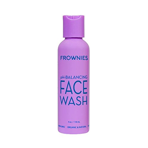 Frownies , pH-Balancing Face Wash. Natural skin cleanser soap-free wash with fruit extracts
