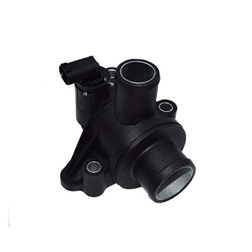 LinYom Sensor De La Carcasa del Termostato del Refrigerante 1662030075 1662030175 1662030275 / FIT FOR - Mercedes Benz/A-KLASSE VANEO W168 A140 A160 A190 A210 (Color : Black)