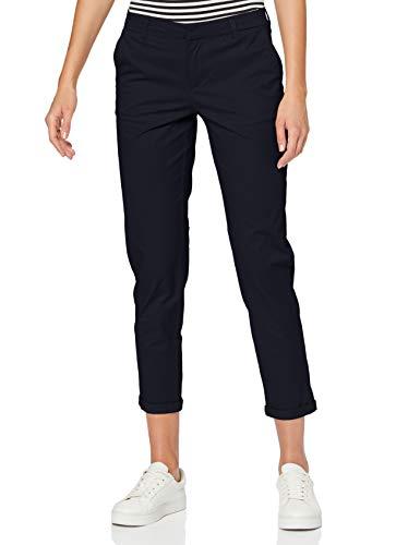 Only ONLBIANA-OLI Life Cotton Chino CC PNT Pantalón, Azul Oscuro, 34 W/32 L para Mujer