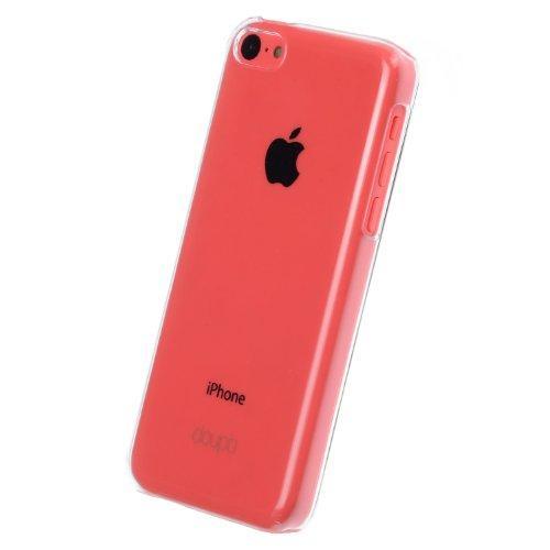 doupi Crystal AllClear Custodia per iPhone 5C Case, Protettiva Hardcase, Trasparente Completo