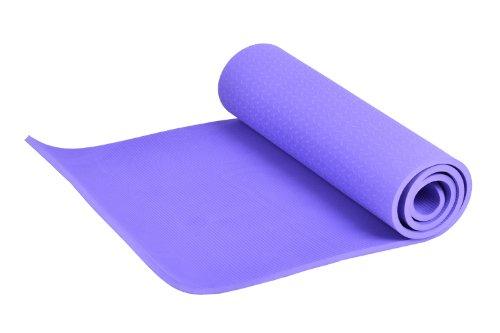 FA Sports Yogiplus, Stuoia di Yoga Unisex Adult, Viola, 183 x 61 x 1.2 cm