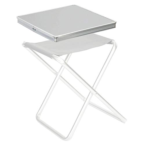 Bo-Camp Alu Tisch Platte Klapp Hocker Tablett Falt Angler Sitz Auflage Camping