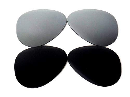 GALAXYLENSE Lentes de reemplazo para gafas de sol de Ray-Ban