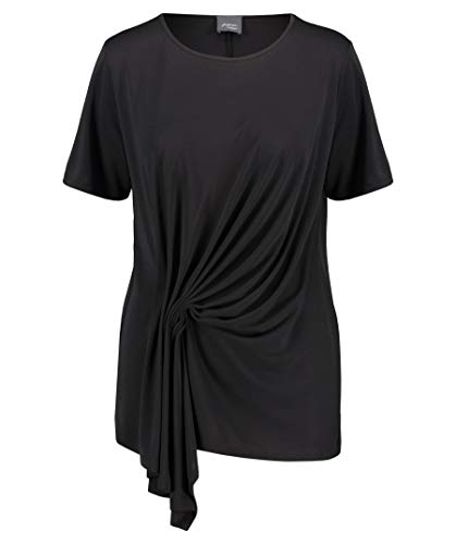 Persona by Marina Rinaldi VALLE T-Shirt Donna, (Nero 074)), Large