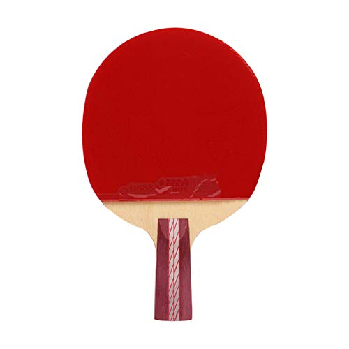 Lowest Prices! 7 Layers of Solid Wood Ping Pong Paddle,Children Beginner Table Tennis Bat,Indoor and...