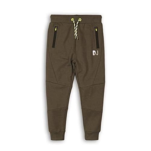 DJ DUTCHJEANS Jogging Trousers Pantalón Deporte, Melee Verde Militar, 7 años para Niños