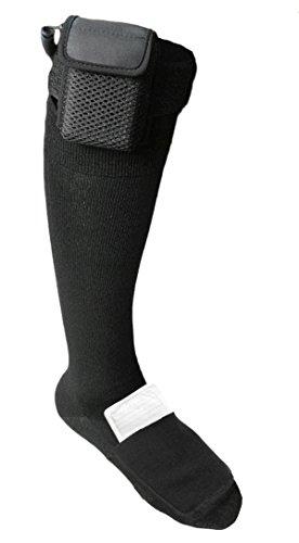 Chaussettes chauffantes Warmawear avec double poche de carburant et télécommande M