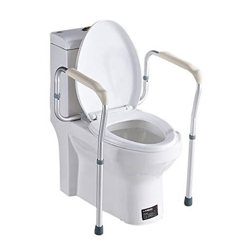 LIU UK Handrail Cadre éLectrique AntidéRapant De SéCurité pour Salle De Bains pour Main Courante De Toilette pour Femme Enceinte âGéE - Alliage D'Aluminium