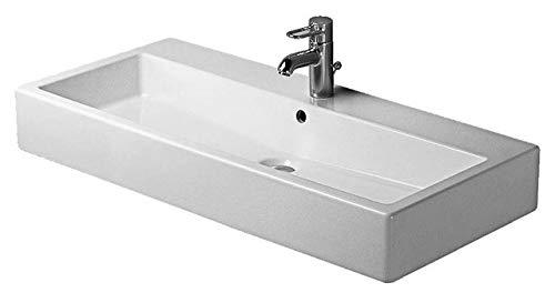 Duravit Waschbecken Vero Breite 100cm 1 Hahnloch, weiß 454100000, 454100000