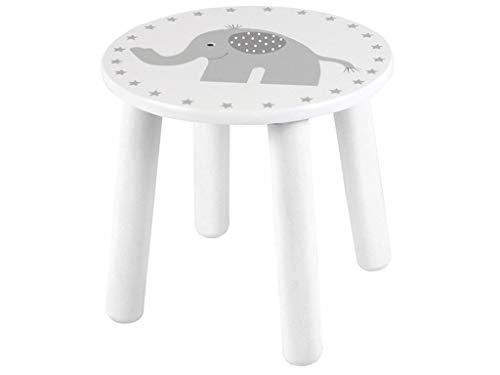 JaBaDaBaDo w7063Hocker Elefant, weiß