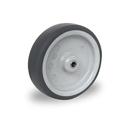 Einbaurad 100 mm Apparaterolle TPE