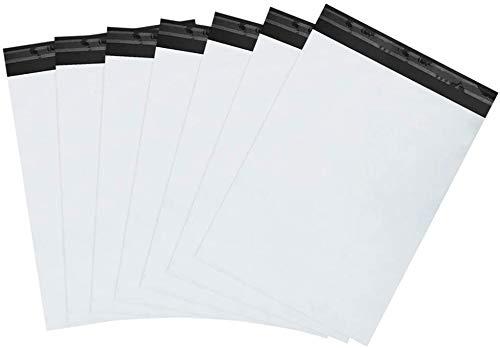 100Piezas Bolsas para Envíos Blanco de 15.3cmX27cm, VAGHVEO Bolsas Sacos Autoadhesivas Embalaje Sobres de Plástico y Poliestireno Postales de Genérico Envío por Correo Bolsas 6 x 9 Pulgadas