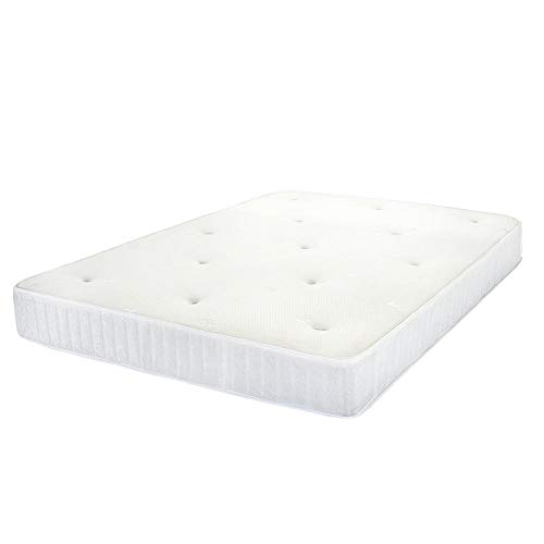 Yuan Ou Mattress Bed Spring Mattress 8-9 inches Thick 2ft6/4FT SMALL DOUBLE/4ft6 Double/5FT King Size Bedroom Bedding 4ftSmalldouble