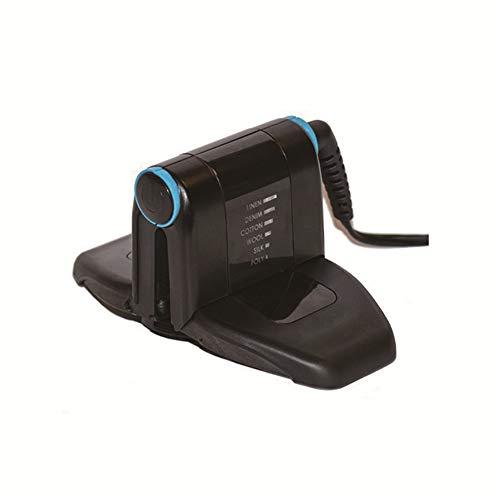 LVJUNQ Mini máquina de Planchar Plegable de Mano portátil con 6 Modos de Temperatura Ajustables, Control de Temporizador Digital, Viajes de Negocios, Uso doméstico