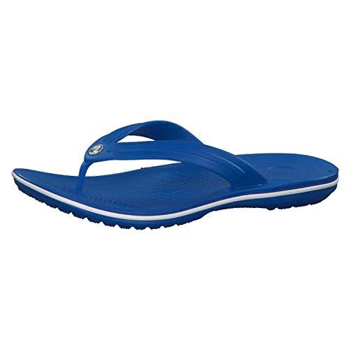 crocs Unisex-Erwachsene Crocband Flip Flop Zehentrenner, Blau, 46/47 EU