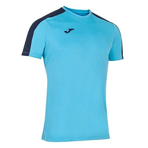 Joma Academy T-Shirt à Manches Courtes pour Enfant, Fille, 101656.013, Turquoise, XXS