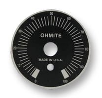 OHMITE 5000E Max 43% OFF PLATE DIAL 5 ☆ very popular piece 2.188IN DIA 1