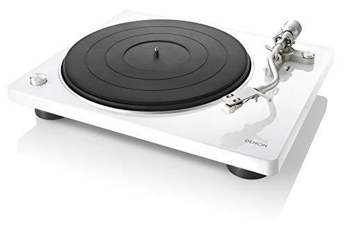 DENON DP-400USB White Giradiscos USB con Previo Phono