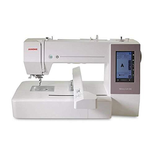 Janome Memory Craft 550e - Máquina de bordar