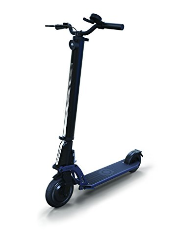 Globber uno K E-Motion Scooter, Unisex, One K E-Motion, Negro y Azul, n/a