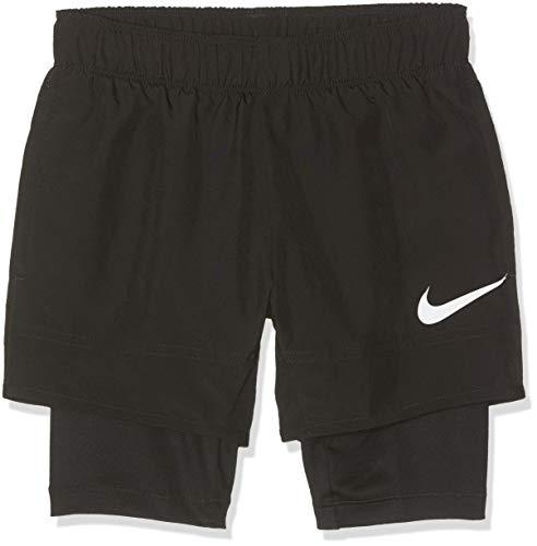 Nike Jungen Hybrid Shorts, Black/Black/White, S