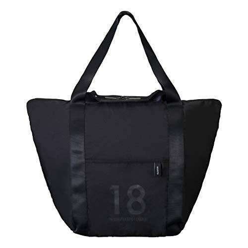 [ミレスト]トートバッグ折りたたみバッグ18LMLS527ブラック