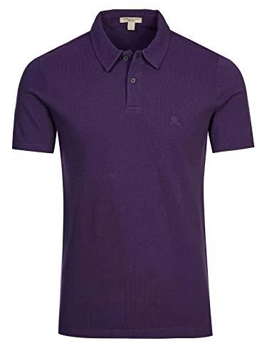Burberry Brit - Polo para hombre, color morado Morado Púrpura Regency M