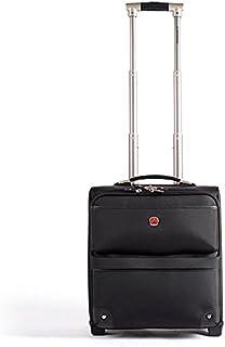 سويسجير شنطة سفر تروللي 21 انش حقيبة من سويس جير - أسود