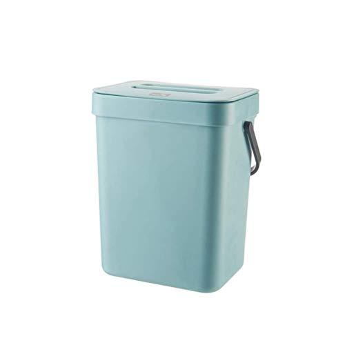 Montado en la pared Bols de residuos de basura Cabineta de cocina basura para colgar la puerta de la sala de estar de la sala de estar de la sala de estar de la sala de estar Cubo de almacenamiento de