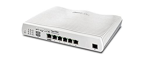 DrayTek Vigor 2866 Wired G.Fast Dual-WAN Load Balancing Router, Firewall,...